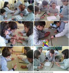 Aprendizaje cooperativo, el juego de las palabras