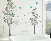 Inspiring Graphic Decals for Interior Spaces by NouWall on Etsy
