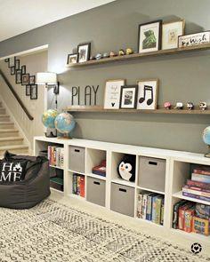 26 best cheap ikea kids basetment playroom ideas for 2020 9 Ikea Kids, Trofast Ikea, Board Game Storage, Board Games, Thrifty Decor Chick, Kids Storage, Toy Storage, Storage Ideas, Storage Shelves