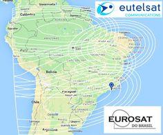 Satélite Eutelsat 2B  Cobertura em todo o Brasil !!!