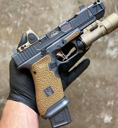 Weapons Guns, Guns And Ammo, Glock Mods, Custom Glock, Outdoor Survival Gear, Tactical Life, Concept Weapons, Home Defense, Military Guns