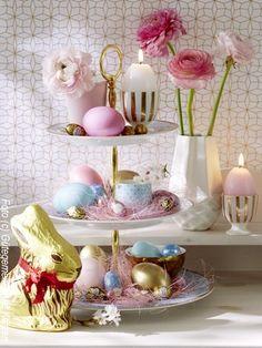 Hübsche Ostergestecke
