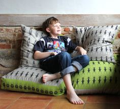 Pretty much the coolest beanbags for bug-obsessed kiddos. #EtsyUK