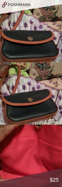 Dooney & Bourke Excellent condition no stains no spots no signs of wear dark Navy Bags Clutches & Wristlets