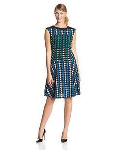 Gabby Skye Women's Cap Sleeve Cinched Waist Printed Fit and Flare Dress, http://www.amazon.com/dp/B00JHCD3S8/ref=cm_sw_r_pi_awdm_aP21tb1KTZ2QP