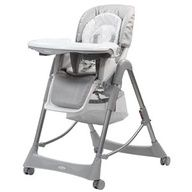 The Messina Hi-Lo High Chair features a removable and adjustable tray and a 6 position height adjustment seat to feed your baby at the dining table or from the chair