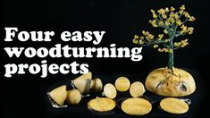 4 easy woodturning projects from leftovers - Ξυλοτορνος