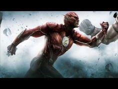 Flash   vs    Capitao   America