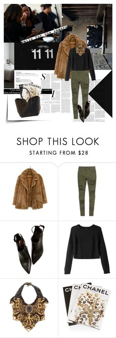 """""""Senza titolo #1947"""" by aanyaa ❤ liked on Polyvore featuring Chloé, ...Lost, Monki, Velvet Eccentric, Assouline Publishing and Louis Vuitton"""