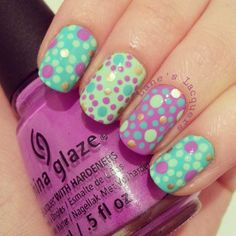 Lane's Lacquers made a dotticure :)