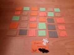 MY halloween advent  calendar