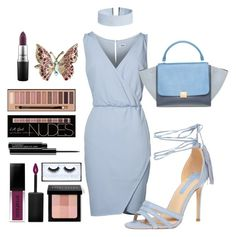 """""""Untitled #12"""" by ladyshouq on Polyvore featuring Dorothy Perkins, CÉLINE, ASOS, Accessorize, Smashbox, Bobbi Brown Cosmetics, MAC Cosmetics and Huda Beauty"""