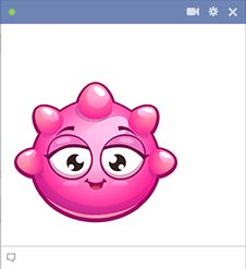 This smiley features a bright hue and bumpy contour. Facebook Emoticons, Coeur Gif, Funny Relationship Jokes, Funny Emoji Faces, Smiley, Contour, Hue, Hello Kitty, Bright