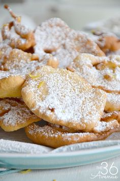 Fried Dough Recipe... Such a yummy treat! Read more here http://www.the36thavenue.com/fried-dough-recipe/ ‎