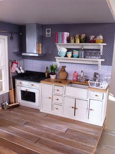 Lavender mini kitchen More