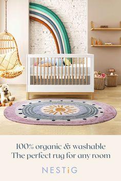 Girl Nursery, Girls Bedroom, Adventure Nursery, Baby Room Design, Washable Rugs, Nursery Neutral, Kids Decor, Cozy House, Create Space