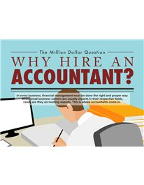 Here are some top reasons for hiring an accountant today.