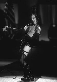 Marilyn Manson. iconic shot