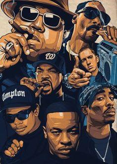 Tupac Wallpaper, Rap Wallpaper, Nike Wallpaper, Retro Wallpaper, Wallpaper Quotes, Dope Cartoons, Dope Cartoon Art, Hip Hop Graffiti, Graffiti Art