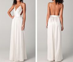 New Arrival Prom Dress,Sexy Backless Prom Dress,white Prom Dress,open backs Prom Dresses by DestinyDress, $157.39 USD