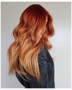 Hair Color Auburn, Hair Color Dark, Vivid Hair Color, Hair Color Streaks, Ginger Hair Color, Strawberry Blonde Hair, Fall Hair Colors, Brown Blonde Hair, Hair Looks
