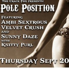 POLE POSITION AT THE CRACK FOX - 9/20
