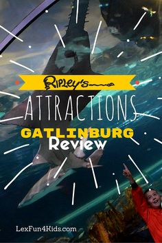 Review of all 8 Great Ripley's Gatlinburg Attractions