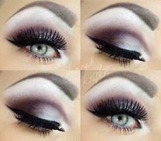 Makeup, eyeshadow, eye