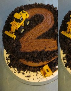2 Year Old Construction Cake