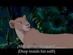 Lion King - Can you feel the love tonight [L.Spanish - Subt]
