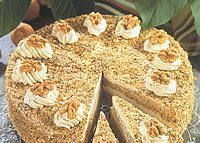Carmen saved to KochenFeine Nusstorte - Poke Cakes, Lava Cakes, Baking Recipes, Cake Recipes, German Baking, German Cake, Custard Cake, Gingerbread Cake, L5r
