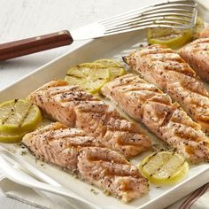 Montreal steak marinade can be used on a meaty fish like salmon for a bold and flavorful fish on the grill!
