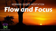 Morning Guided Meditation to Get Into the Flow and Focus Short Guided Meditation, Morning Meditation, Dream Life, Are You Happy, Letting Go, Flow, Dreaming Of You, Mindfulness, Lets Go
