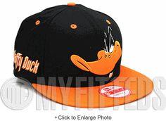 Daffy Duck Cabesa Punch Jet Black Orangeade Looney Tunes New Era Snapback