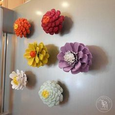 13 reasons to rush outside and collect an armful of pine cones, christmas decorations, crafts, repurposing upcycling, seasonal holiday decor, Colorful Fridge Magnets