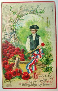 George Washington & The Cherry Tree