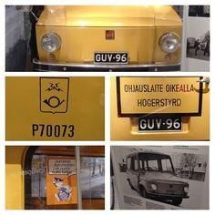 Postin jakelumäärät ovat pudonneet 1960-luvun tasolle. Pitäisikö ottaa käyttöön sen tason mukainen kalusto ? :) #postiauto #tjorven #postbil #vellamo #mutkatsuoriksi #kymenlaaksonmuseo #merikeskusvellamo #museoauto lainassa #postimuseo lta #mobilia #postinkeltainen #postipoika #deliveryvan #postauto #maildelivery