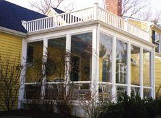 3 Season Porch | 3 Season Porch Windows I like this style!