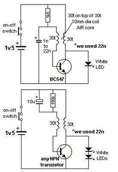 HV Ignition Coil Driver using 555 schematic Ham Radio