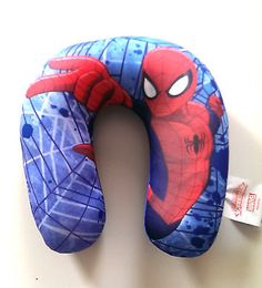 #Childrens #marvel spiderman car travel neck #cushion,  View more on the LINK: 	http://www.zeppy.io/product/gb/2/262475905703/