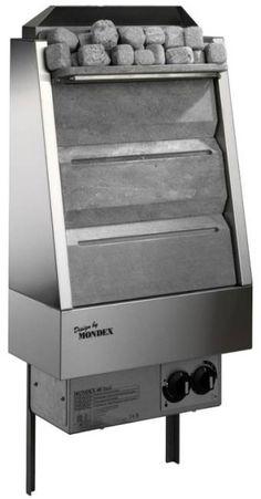 Vuolukivikiuas Mondex Classic Steel 6,0 kW 5-8 m³