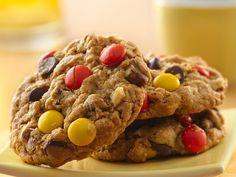 chocolate peanut butter oat cookies