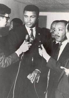 Muhammad Ali & Martin Luther King Jr.