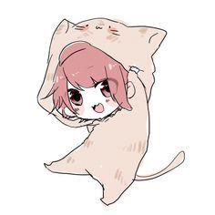 画像 Anime Cat Boy, Cute Anime Chibi, Anime Child, Kawaii Chibi, Anime Neko, Kawaii Anime, Anime Art, Cute Anime Character, Character Art