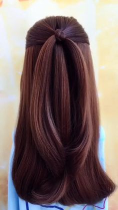 braided hairstyles for long hair videos Amazing Summer Braids for Long Hair 2019 - As we know, hairstyle plays an important role in everyday life, gorgeous, romantic but easy simple - Hairdo For Long Hair, Long Hair Video, Easy Hairstyles For Medium Hair, Fast Hairstyles, Medium Hair Styles, Long Hair Styles, Everyday Hairstyles, Creative Hairstyles, Short Hair Buns