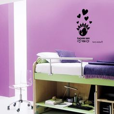 wallsticker Heart Wallpaper interior Design
