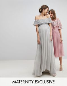 Just found out you have a pregnant bridesmaid? Congrats! Shop 25 of the cutest maternity bridesmaid dresses for your friend. Blue Bridesmaid Dresses Uk, Maternity Bridesmaid Dresses, Grad Dresses Short, Burgundy Bridesmaid, Formal Dresses For Teens, Formal Dresses For Weddings, Blue Bridesmaids, Wedding Dresses, Bridesmaid Colours