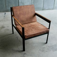 Armchair Cargo Distressed Leather - Heerenhuis / The Loft