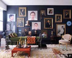 Modern Victorian Decor, Victorian Living Room, Victorian Farmhouse, Victorian Design, Victorian Homes, Modern Decor, Victorian Terrace, Trends 2018, Eclectic Decor