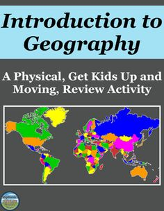 Students complete 20 tasks while being up and moving in the classroom to… 5th Grade Geography, Geography For Kids, Geography Activities, Geography Lessons, Teaching Geography, World Geography, Geography Classroom, Dinosaur Activities, 4th Grade Social Studies